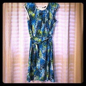 Tahari multicolored dress size 6